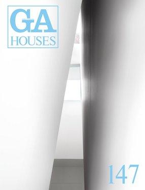 『折り壁の段床』が「GA HOUSES 147」に掲載されました。