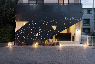 『Rely Noble』の竣工写真をworksにアップしました。