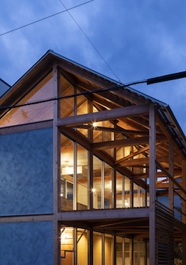 『軸組の家』の竣工写真をworksにアップしました。
