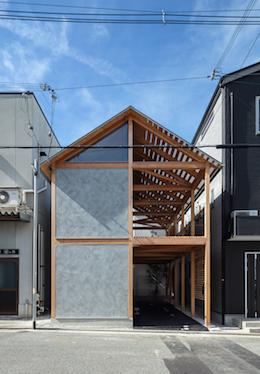 『軸組の家』がwebサイトarchitecturephotoに掲載されました。