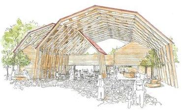 公募型簡易プロポーザル「六甲山牧場北エリアトイレ棟増築工事設計業務」において第1位に選定されました。