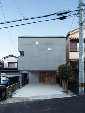 『対の家』が高知県建築文化賞で新人賞を受賞しました。
