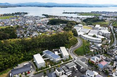 『成安造形大学アパートメント YOHAKU』の竣工写真をworksにアップしました。